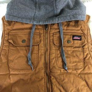 Dickies Mens Vest hooded XL
